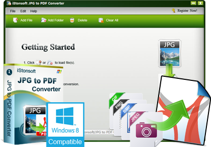 iStonsoft JPG to PDF Converter
