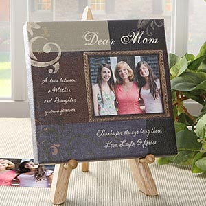 make photo frame gift card for mom