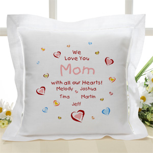 best mother's day gifts - personized pillow