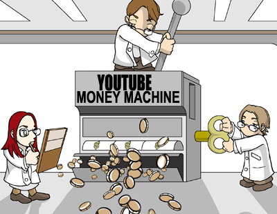 turn youtube into a money machine