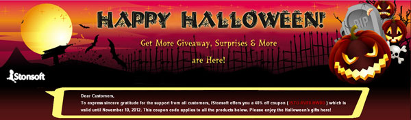 halloween promotion
