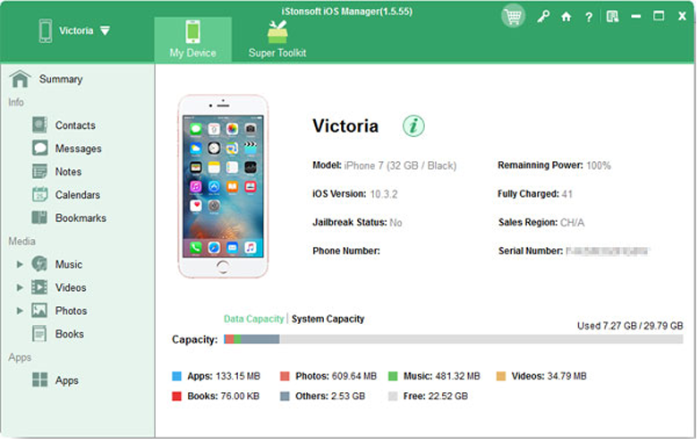 iStonsoft iPhone to Computer Transfer 2.1.4 full