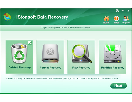 sim card data recovery software screenshot