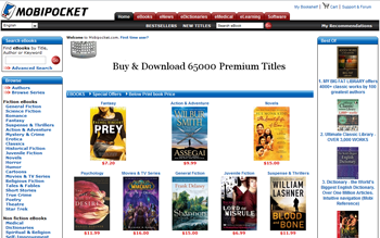 free ebooks for mobipocket on official site