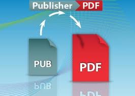 converting publisher to pdf