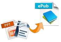 convert odt, ppt to epub