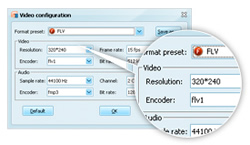 customize with powerpoint to video software
