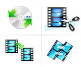 edit the video files with the dvd ripper software