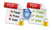 remove pdf restrictions