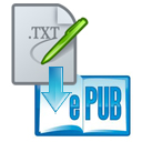 convert txt to epub free