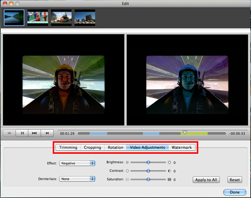 edit videos before converting videos to kindle fire on mac