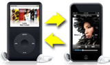transfer music from one ipod to another ipod