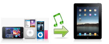 easy way on how to transfer ipod songs to ipad