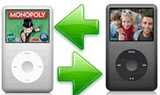 how do you transfer old ipod to new ipod