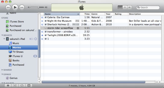 transfer songs from ipod to iphone