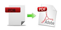 how do you convert pdb to pdf