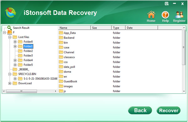 recover lost pc files