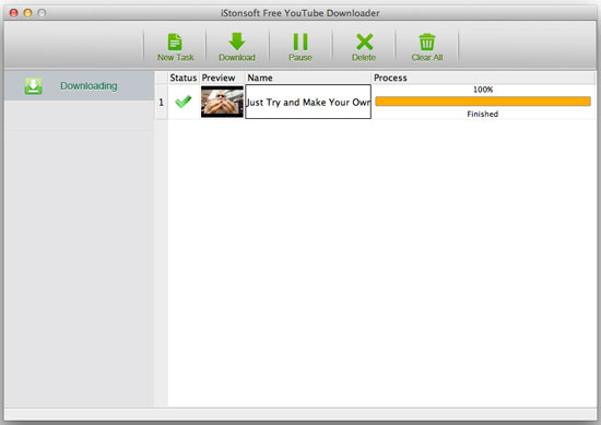 istonsoft free youtube dowloader for mac