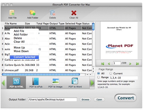 convert pdf to kindle mac