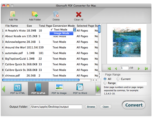 powerful sofware for save pdf as other document on mac