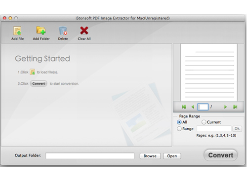 ready to extract image from pdf mac