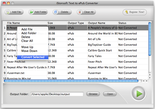 convert txt to epub on mac