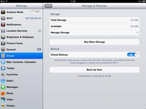 transfer apps from ipad to iphone with icloud