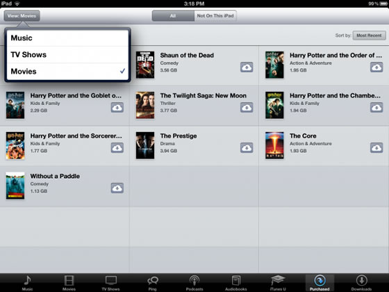 How to Re-download iTunes Purchased Files to iPad mini with