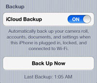recover deleted iphone video with icloud