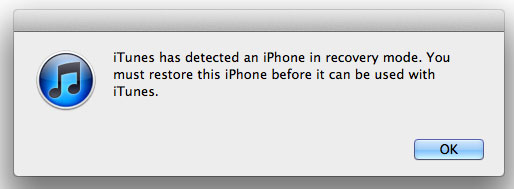 enter recover mode on ipad iphon and ipod touch
