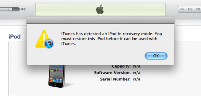 Part 2. How to Put iPhone/iPod touch/iPad into Recovery Mode