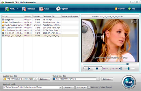 wmv drm removal tool screenshot