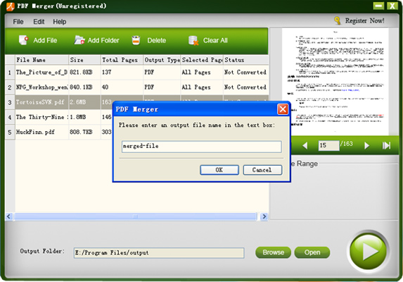 iStonsoft PDF Merger Screenshot