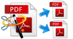 how to cut pdf document pages