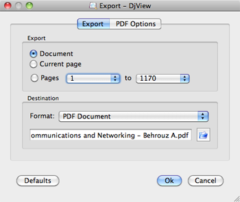 convert djvu to pdf for mac