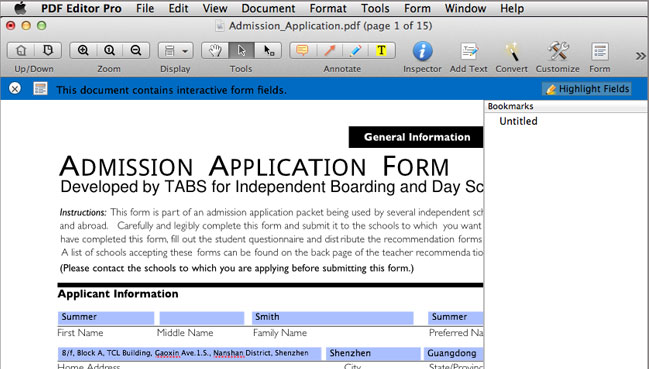 outstanding pdf form filler for mac
