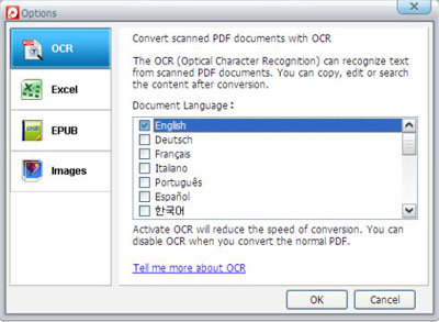 how to make a pdf file from scanned images
