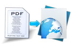 convert pdf to web form