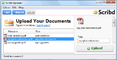 scrib to organize pdf files free
