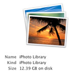 transferring iphoto library to new mac