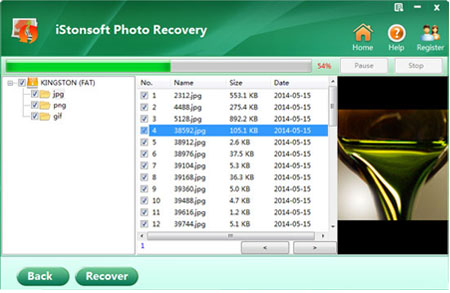photo recovery from memory card screenshot