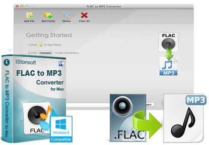 iStonsoft FLAC to MP3 Converter for Mac