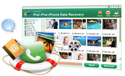 find back all ipad iphone ipod lost files