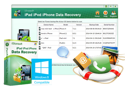 iStonsoft iPad/iPod/iPhone Data Recovery