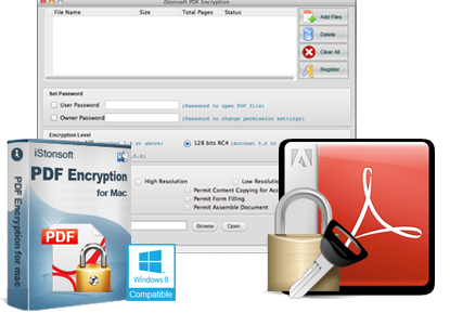 iStonsoft PDF Encryption for Mac