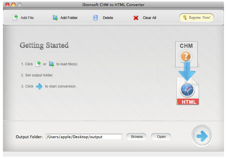 CHM to HTML Converter for Mac