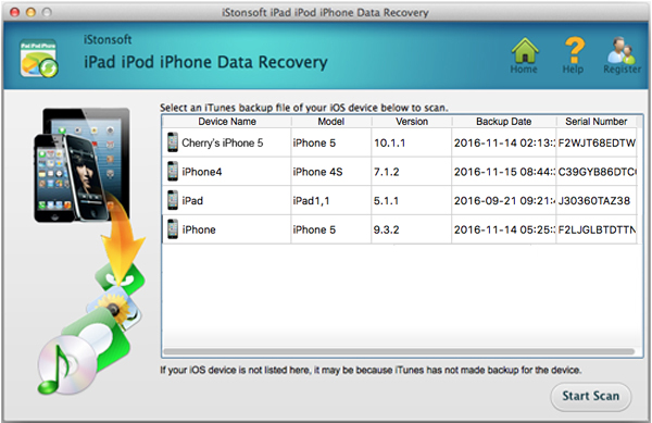 best way to recover lost file for idevice