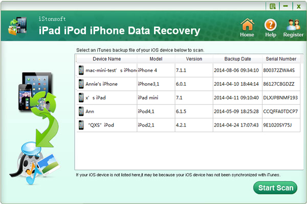 iStonsoft iPad iPod iPhone Data Recovery