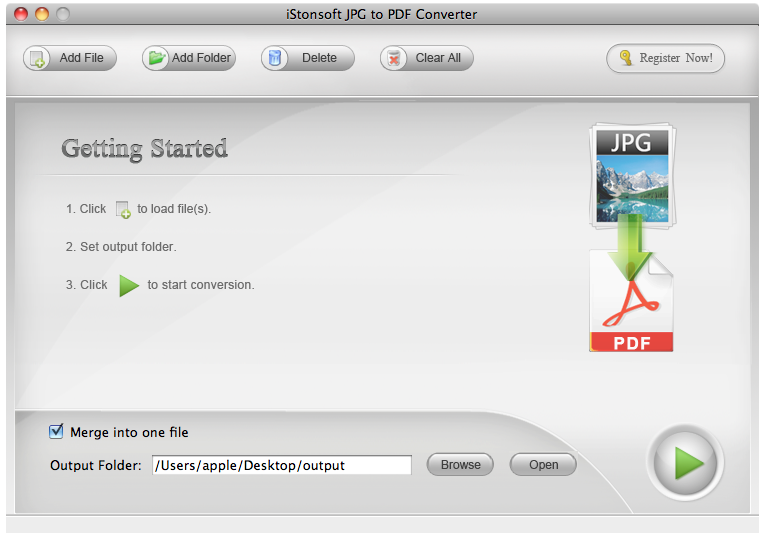 iStonsoft JPG to PDF Converter for Mac 2.1.5
