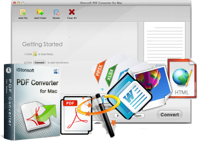 PDF Converter for Mac - Convert PDF to ePub/Image/Text/HTML/